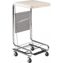 Drive Hamper Stand with Poly Coated Steel Lid (DRV13070)