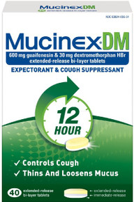 Mucinex DM Expectorant Cough Suppressant Extended Release