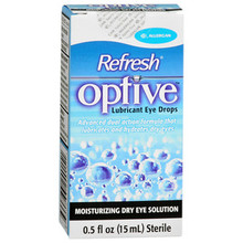 OPTIVE LUBRICANT EYE DROPS 15ML 0.5 fl oz