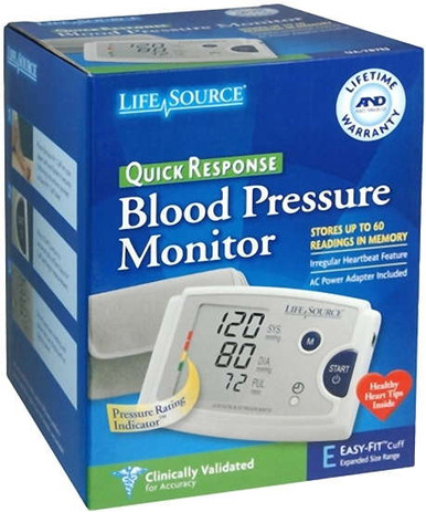 Lifesource Quick Response Blood Pressure Monitor UA-787EJ