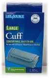 Lifesource Digital Blood Pressure Cuff Large Ua-281 1 Each