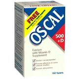 Os-Cal 500+D Tablet 160ct