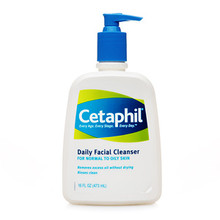 Cetaphil Daily Facial Cleanser, Normal to Oily Skin  - 16 fl oz