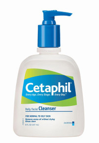 Cetaphil Daily Facial Cleanser, Normal to Oily Skin - 8 fl oz