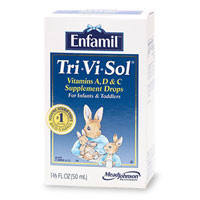 Tri-Vi-Sol Vitamins A,D & C Supplement Drops for Infant & toddlers