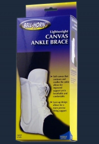 Lightweight Canvas Ankle Brace