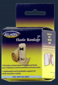 "Bell-Horn 2"" Elastic Bandage with Clip Lock"