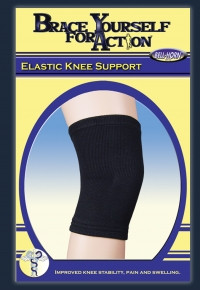 Bell Horn Elastic Knee Support