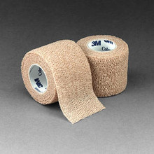 3M™ Coban™ Self-Adherent Wrap 1582 - 2 inch x 5 yard  Tan