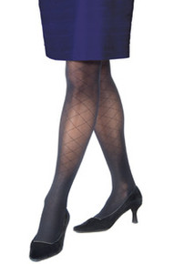 Jobst Diamond Pattern UltraSheer Thigh High 15-20mmHg