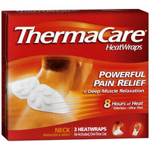 ThermaCare Air-Activated Heatwraps, Neck, Shoulder & Wrist - 3 ea