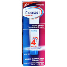 Clearasil Clearasil Ultra Rapid Action Acne Treatment Cream - 1 oz