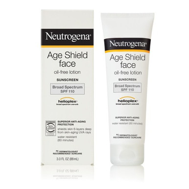 Neutrogena Age Shield Face Lotion Sunscreen SPF 110 3 fl oz