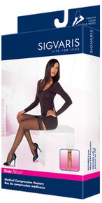 Sigvaris 780 EverSheer 15-20 mmHg Women's Closed Toe Thigh Highs - 781N