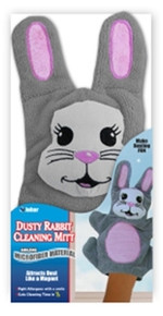 Rabbit Dust Cleaning Mitt