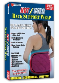 Hot/Cold Back Support Wrap