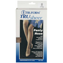 TRUFORM 265 Trusheer Pantyhose 20-30 mmhg Compression Stockings