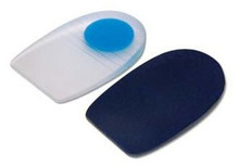 Pedifix GelStep® Heel Pads Soft Center Spot, Covered - 1 pair