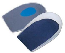 Pedifix GelStep® Heel Cups Soft Spur Spot, Covered - 1 pair