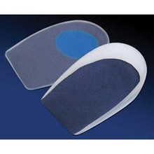 Pedifix GelStep® Heel Cups Soft Center Spot, Covered - 1 pair