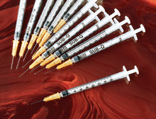 BD Luer-Lok 5 mL syringe with 20 G x 1 1/2 in