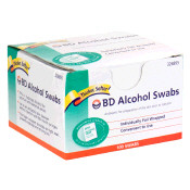 BD Alcohol Disposable Swabs 100/Box (12 box case)
