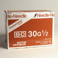 BD needle 305106 - 30 G x 1/2 in. BD PrecisionGlide™ specialty use sterile hypodermic needle (305106)