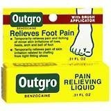 Outgro Pain Relieving Liquid .31 oz (8ml) Relieves Foot Pain