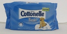 Cottonelle Fresh Flushable Moist Wipes Pop-Up Refill