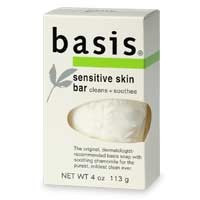 Basis Sensitive Skin Bar 4oz