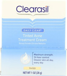 Clearasil Daily Clear Tinted Acne Treatment Cream 1 Ounce