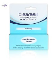 Clearasil Daily Acne Control Vanishing Acne Treatment Cream 1oz