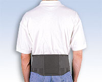 Safe-T-Belt Industrial Occupational Working Lumbar Belt Support Brace