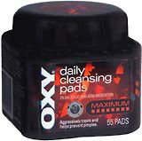 Oxy Daily Cleansing Pads Maximum 55ct