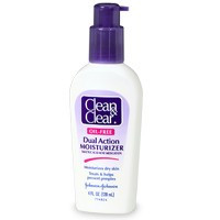 Clean & Clear Dual Act Moisturizer Regular 4oz.