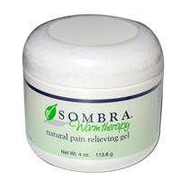 Sombra Warm Therapy Natural Pain Relieving Gel, 4 oz (113.6 g)