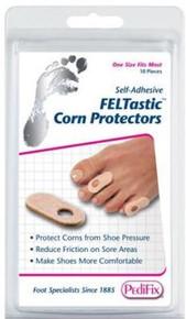 Pedifix Felt Corn Protectors-10 Per Pack
