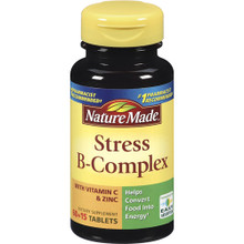 Nature Made Stress B-Complex Tablets With Vitamin C and Zinc 75ct