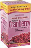 Natures Bounty Cranberry Softgels Triple Strength 60ct