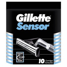 Gillette Sensor Refill Cartridges 10 Count
