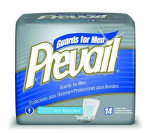 Prevail® Male Guards Case of 9