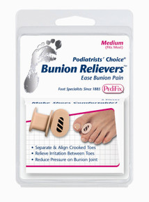 Pedifix Pediatrists Choice Bunion Relievers - 2 per Pack