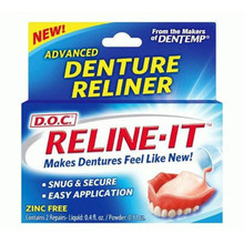 D.O.C. Reline-It Denture Reline Kit