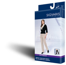 Sigvaris 841C Soft Opaque 15-20 mmHg OPEN Toe Knee High Compression