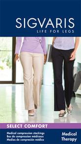 Sigvaris 860 Select Comfort 30-40 Women's Pantyhose Plus Maternity 863M