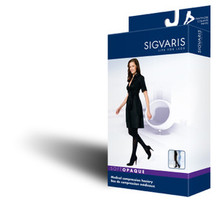 Sigvaris 840 Soft Opaque 15-20 compression OPEN Toe Pantyhose 841P