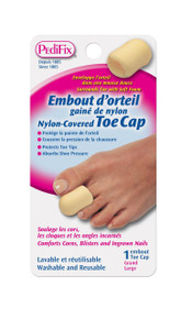 Pedifix Nylon-Covered Toe Cap - 1 each