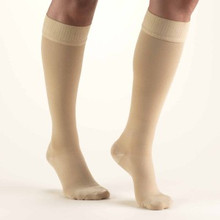 TRUFORM Classic Medical 20-30 mmHg CLOSED TOE Knee High w/Silicone Dot Stay-Up Top 8864