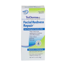 TriDERMA Facial Redness Repair Cream 2.2oz Tube