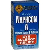 Naphcon-A Eye Drops 15 ml redness itching